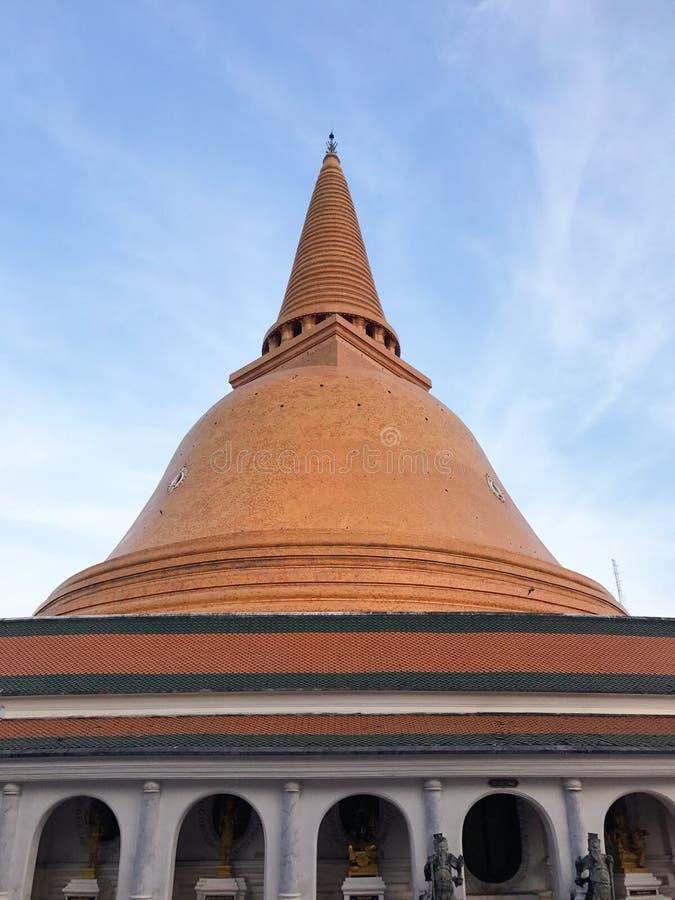 Phra Prathomchedi fotografie stock