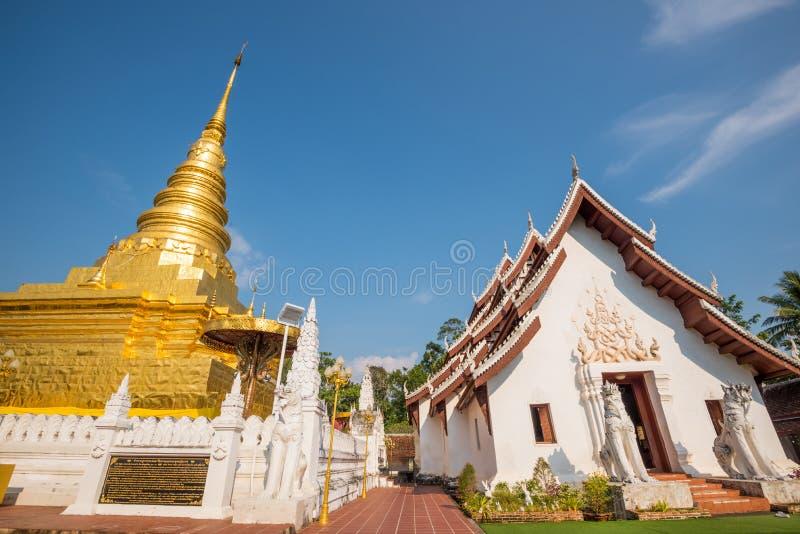 Phra que Chae Haeng, província de Nan, Tailândia imagens de stock royalty free