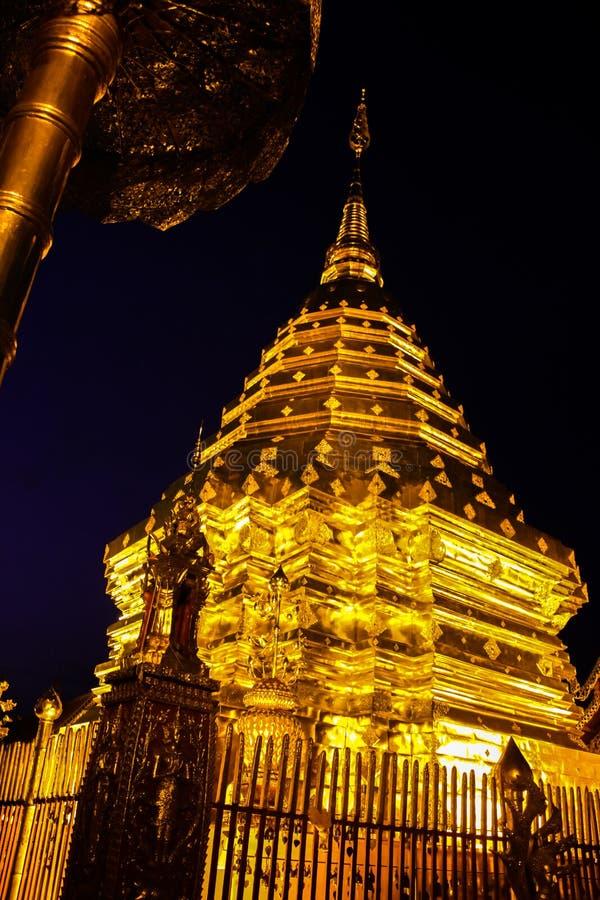 Phra quel Doi Suthep fotografie stock