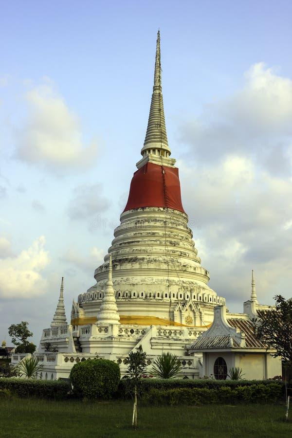 Phra Samut Chedi塔  免版税库存照片