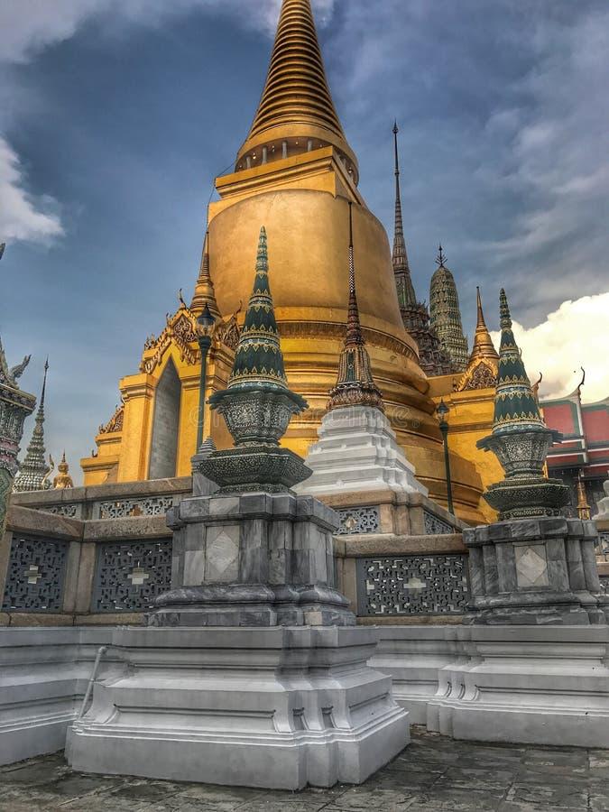Phra Sriratana Chedi. Is located in the Temple Wat Phra Sriratana Sassadaram [ Phra Nakhon Bangkok stock photos