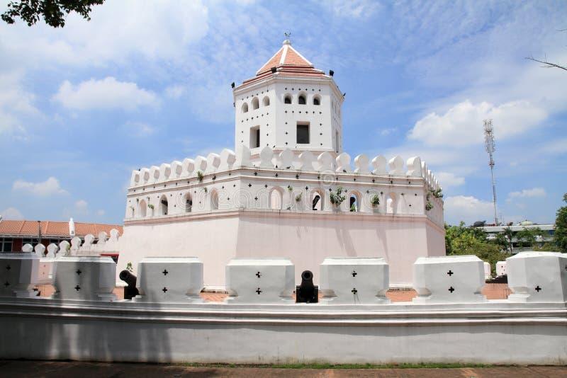Phra Sumen fort w Bangkok obrazy royalty free