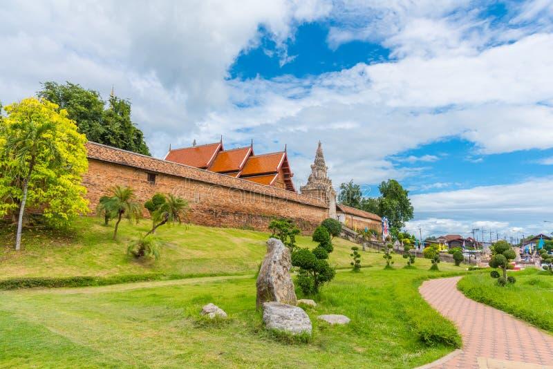 phra tad lampang luang tempel stock foto