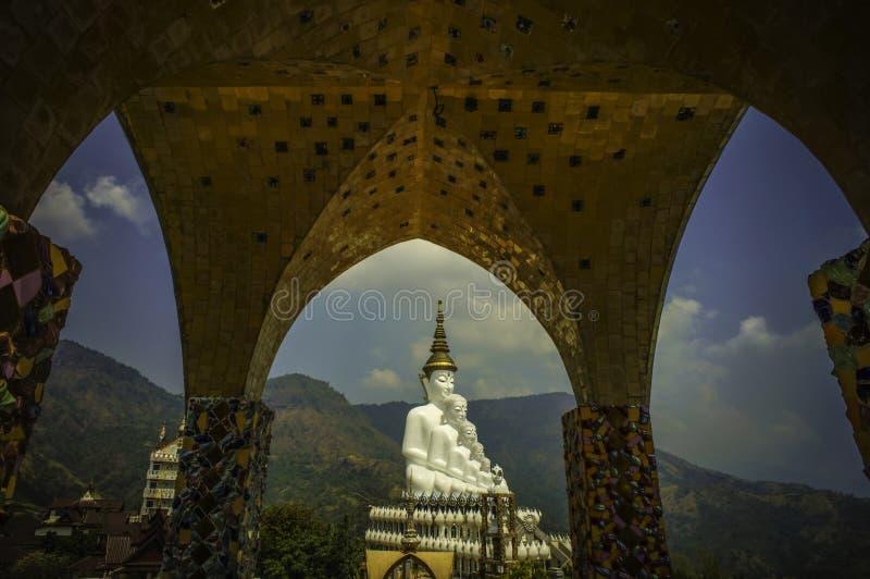 Phra Tat Pha syna Keaw świątynia zdjęcia stock