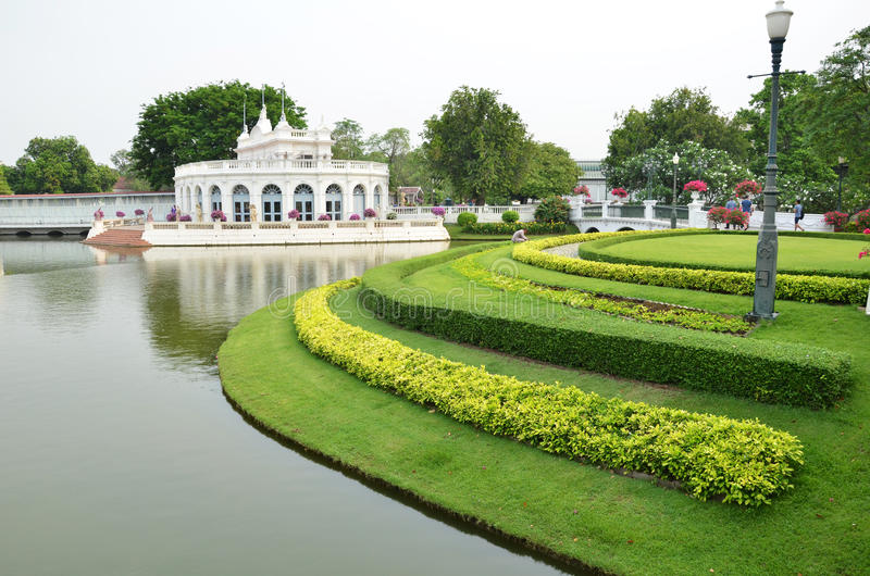 Phra Thinang Warophat Phiman fotografia stock