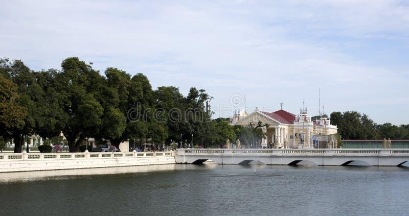 Phra Thinang Warophat Phiman fotografie stock libere da diritti