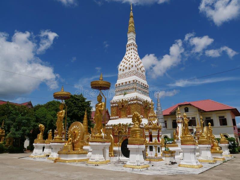 Phra Wat που σε Nakorn Phanom Ταϊλάνδη στοκ φωτογραφία με δικαίωμα ελεύθερης χρήσης