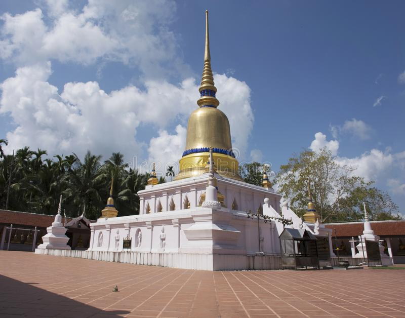 Phra Wat которое висок sawi в Chumphon, Таиланде стоковое фото