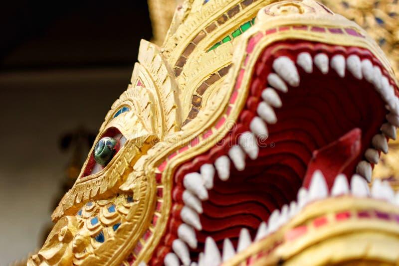 Phra Ya Nak, wat phra singha royalty free stock images