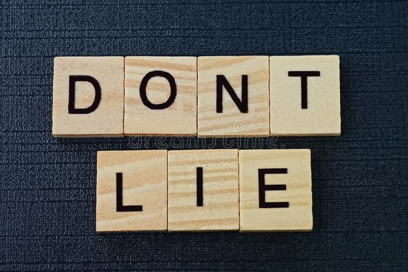 Dont Lie Photos - Free & Royalty-Free Stock Photos from Dreamstime