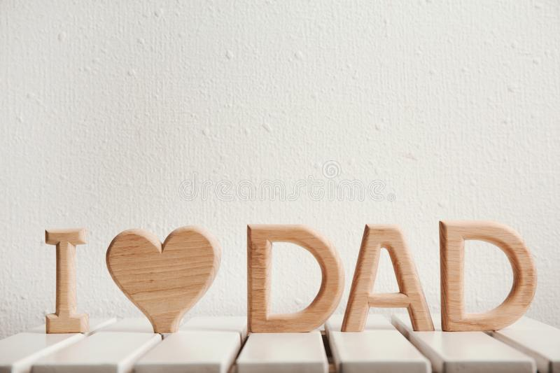 Phrase i love dad made of wooden letters as greeting for fathers download phrase i love dad made of wooden letters as greeting for father m4hsunfo