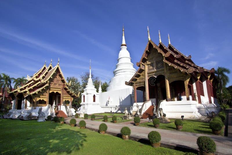Phrasingh di Wat, chiangmai Tailandia fotografia stock libera da diritti