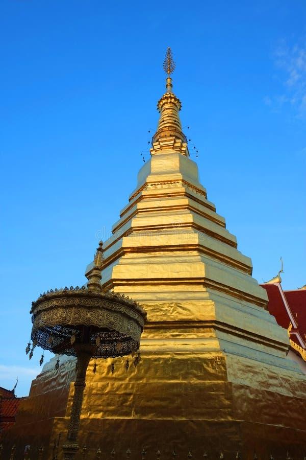 Phrathat Chohae pagod arkivbild
