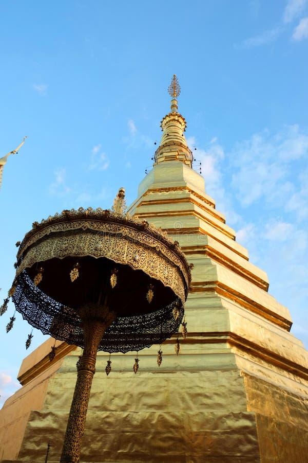 Phrathat Chohae pagod arkivfoton