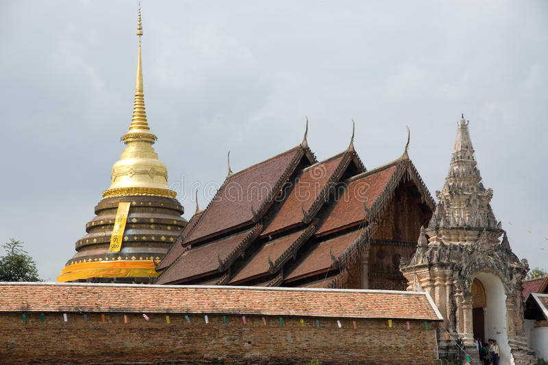 Phrathat Lampang Luang Thailand stock images