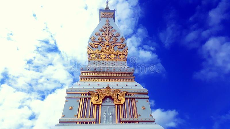 Phrathat phanom chedi fotografia royalty free