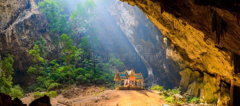 Phraya洛坤洞 Khao山姆Roi Yot国家公园在泰国 免版税图库摄影