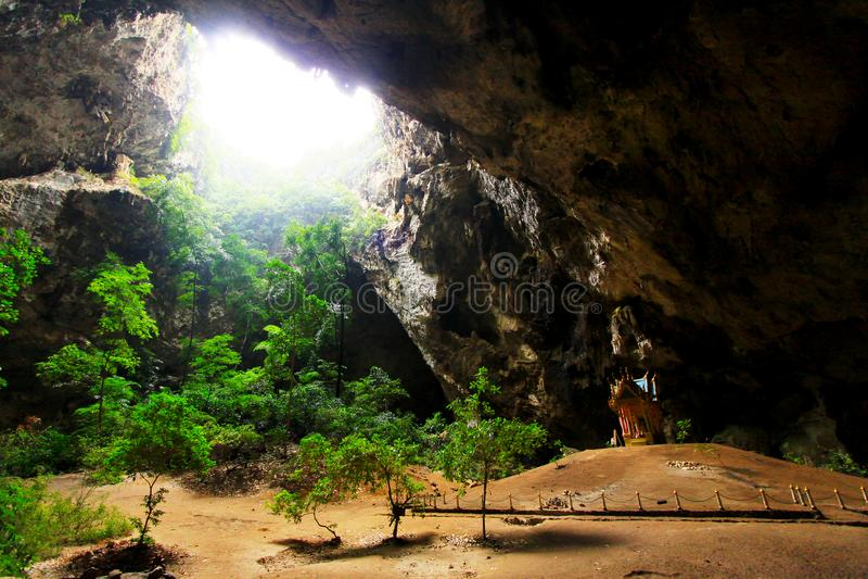 Phraya Nakhon Cave, Khao Sam Roi Yot National Park, Thailand. Khao Sam Roi Yot National Park is a marine national park in Kui Buri District, Prachuap Khiri Khan stock images