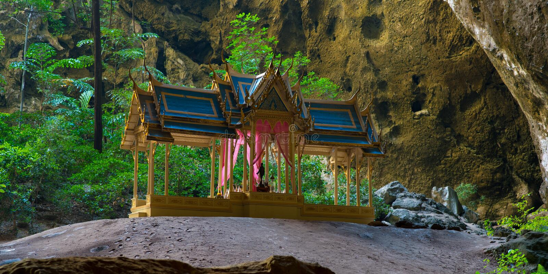Phraya Nakhon jama zdjęcia royalty free