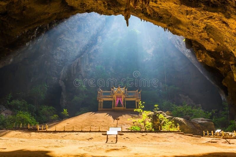 Phraya Nakorn洞。 库存图片