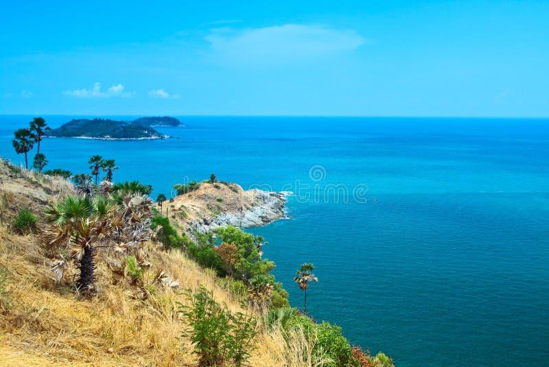PhromThep cape, PhuKet province,Thailand stock photo