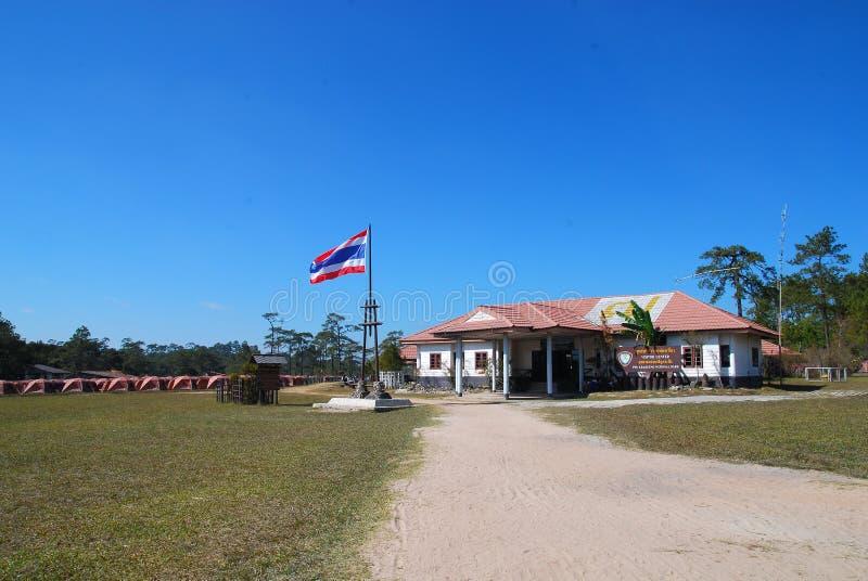 Phu Kradueng - εθνικό πάρκο της Ταϊλάνδης στοκ εικόνα