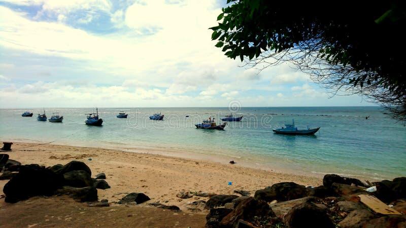 Phu Quy海岛视图 库存照片