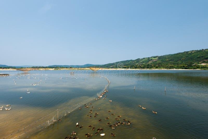 Phu Yen Lake, Tuy Hoa, Vietnam fotografia stock
