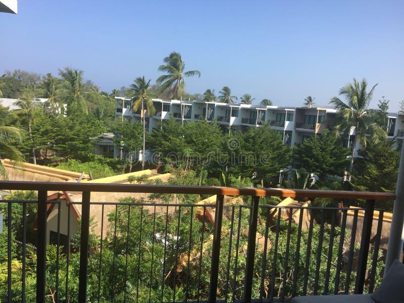 Phuket balkongsikt arkivfoton