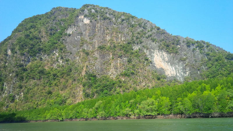Phuket-Berge stockfotos