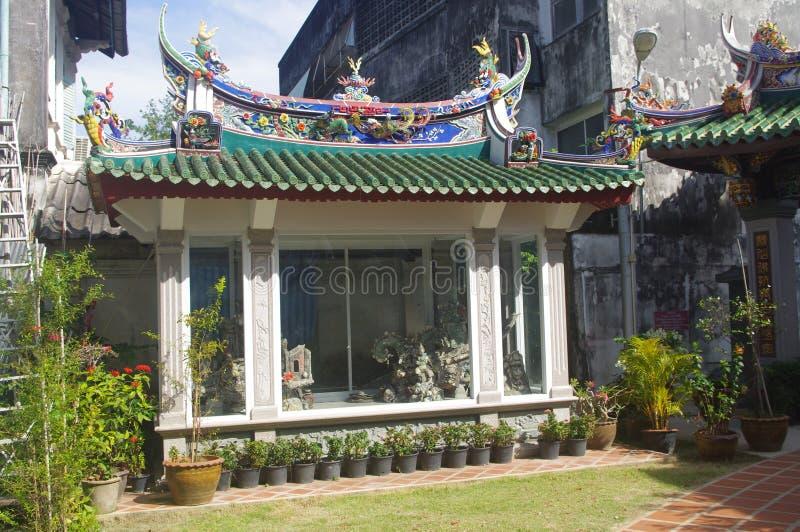 Phuket Buddhist temple royalty free stock images