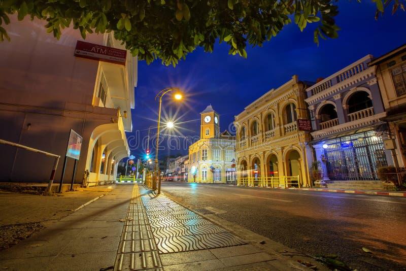 Phuket gammal stad Thailand royaltyfria foton