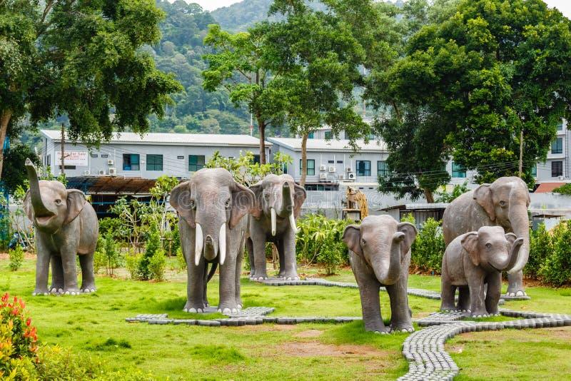Phuket het drijven markt stock foto's