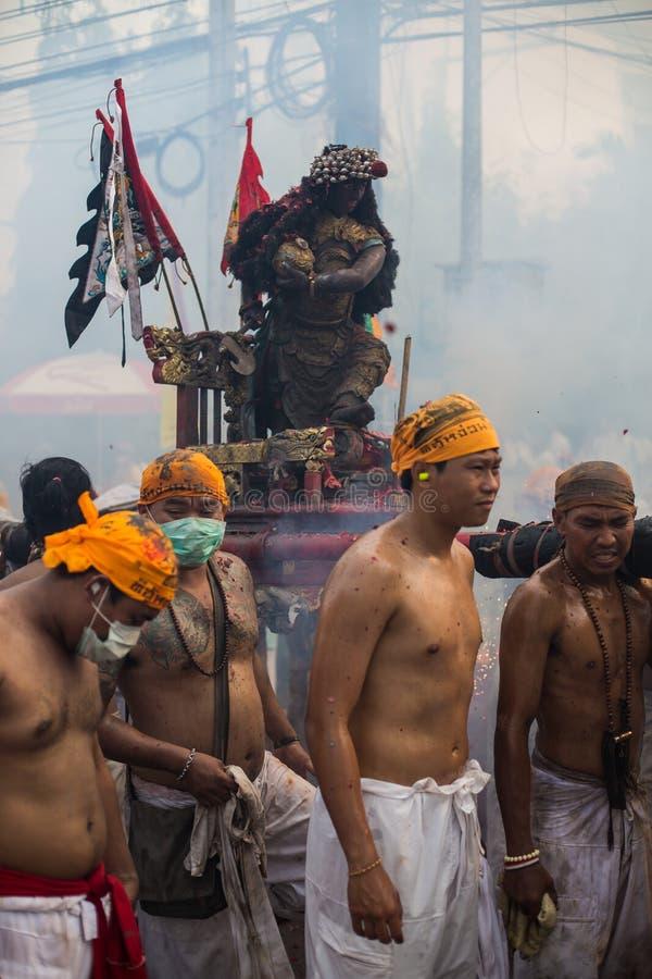 Phuket Jarski festiwal 2014 obrazy royalty free