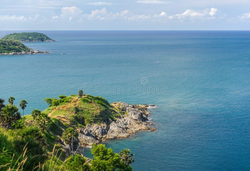Phuket linia brzegowa, balu Thep przylądek obrazy stock