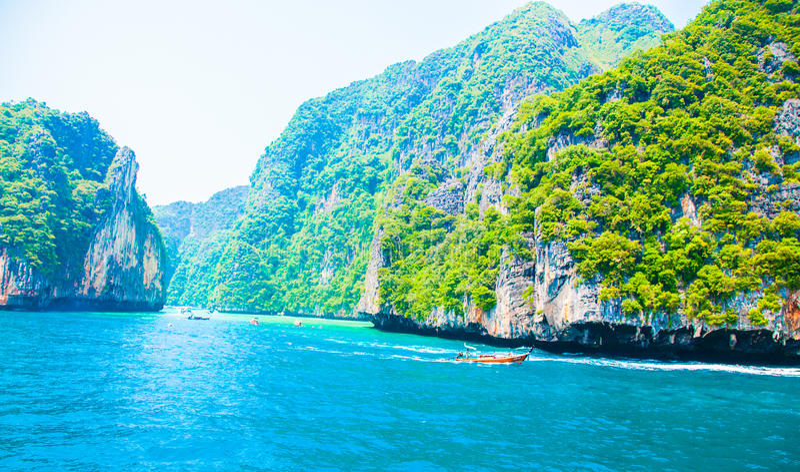 phuket morze Thailand zdjęcia royalty free