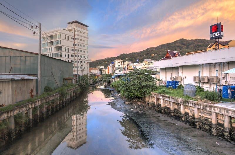 Phuket, Tailandia, il 23 ottobre, settembre: Zone residenziali a Phuket immagine stock libera da diritti