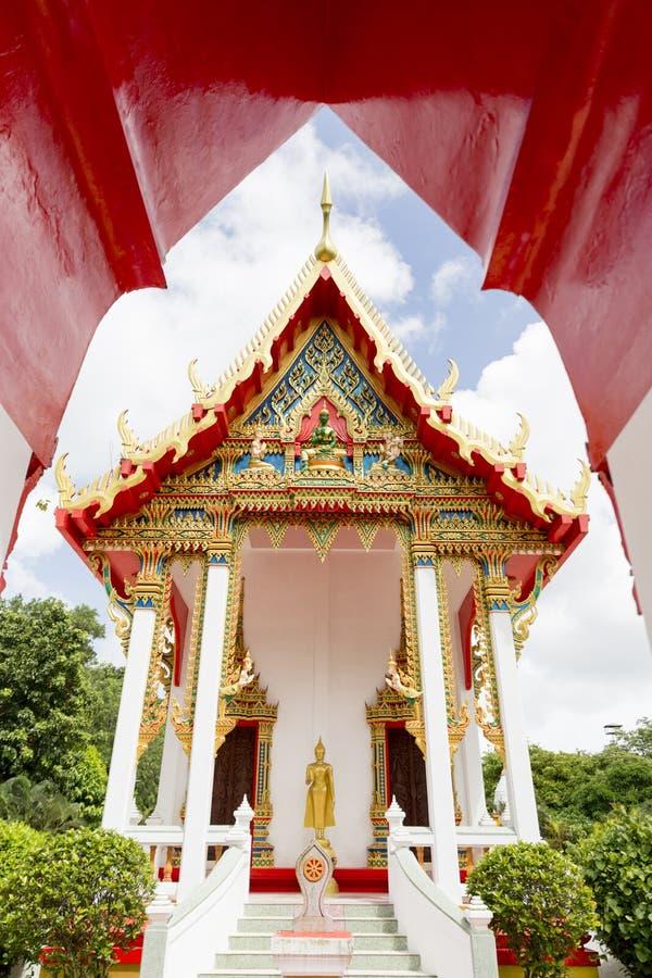 Phuket, Tajlandia przy Marmurową świątynią zdjęcie royalty free