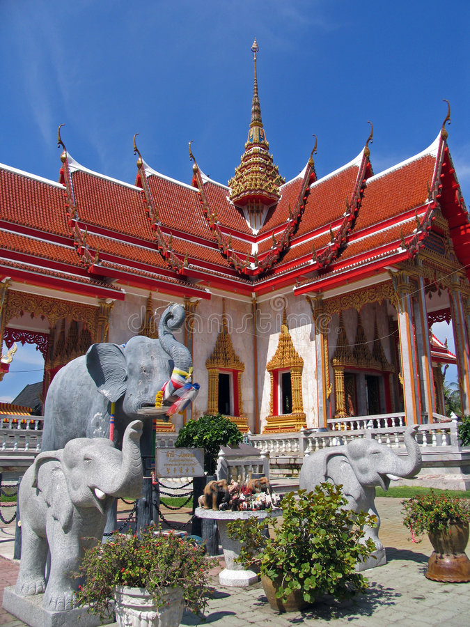 Free Phuket Temple Royalty Free Stock Photography - 3326217