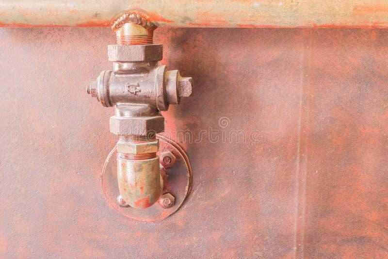 Phuket, Thailand - Mar 26, 2016 : Old pipe connection for tin mi stock photo