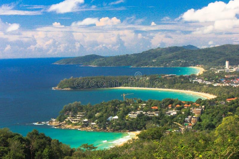Phuket widoku punkt fotografia royalty free