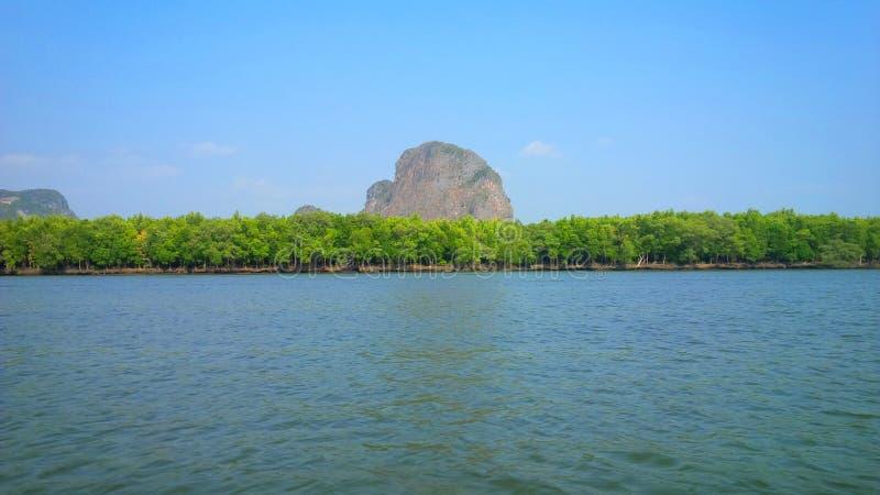Phuketbergen stock afbeelding