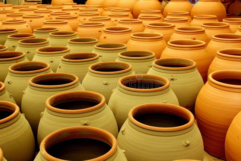 PhuLang keramik royaltyfri foto