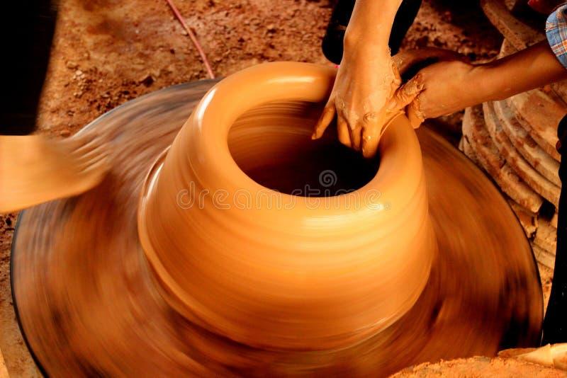 PhuLang keramik royaltyfri fotografi