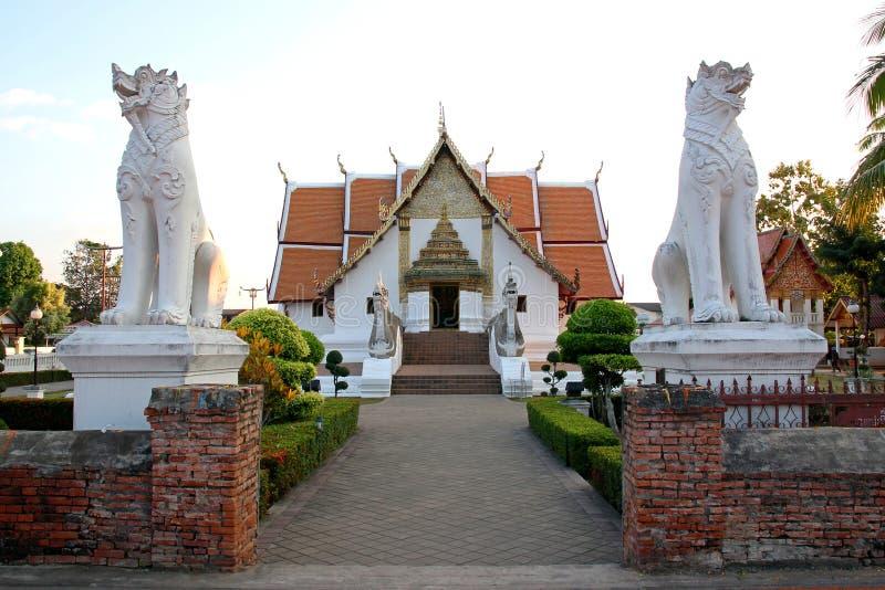 Phumin Temple stock photo