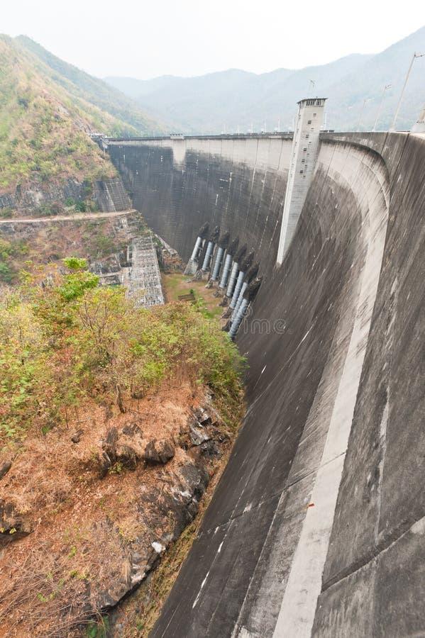 Download Phumiphol Dam At Tak, Thailand Stock Image - Image: 23516847