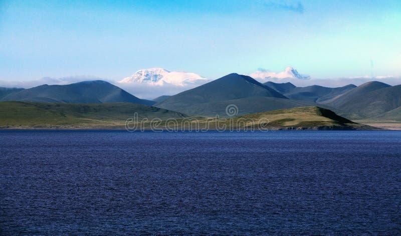 PHUMOYUMTSO jezioro zdjęcie royalty free