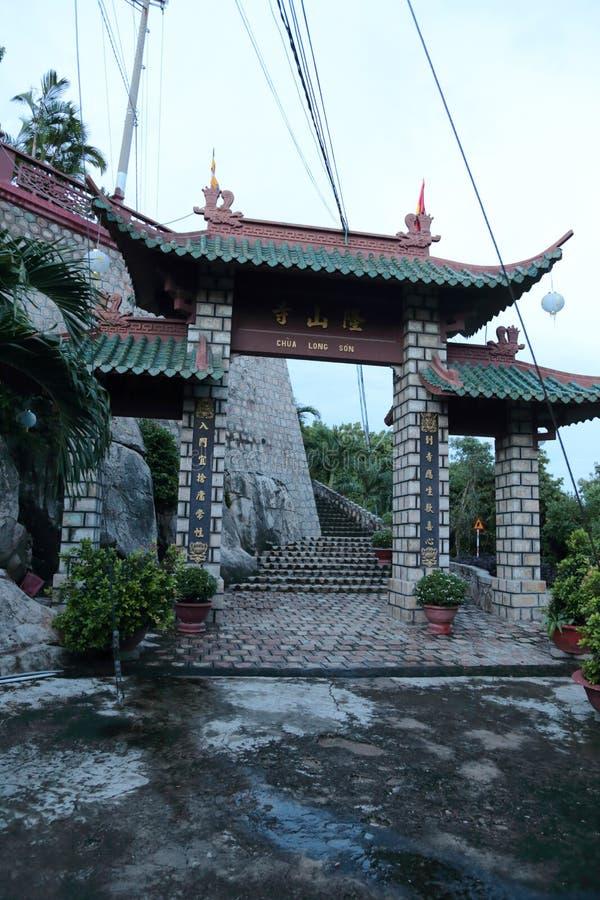Phuoc Dien Temple dans le Doc. de Chau photos libres de droits