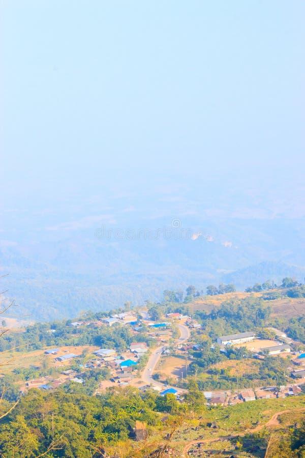 Phutabberk, berg Thai royalty-vrije stock afbeelding