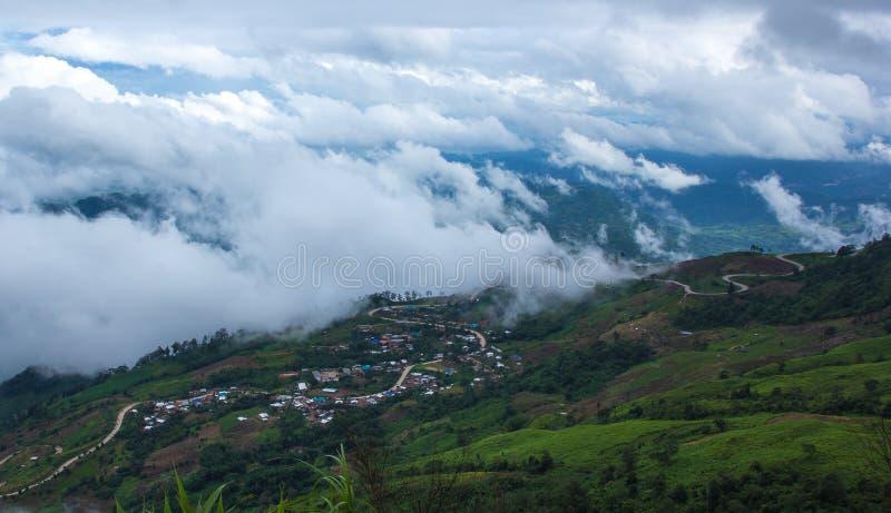 Phutabberk berg, Thailand royaltyfri bild